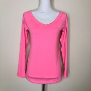 Lilly Pulitzer Hot Pink Long Sleeve Tee